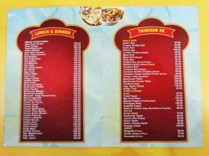 Kanha Food Court Bharatpur KFC Menu