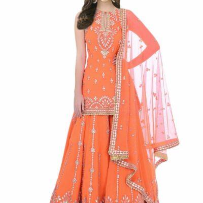 High Quality Garara Sets For Muslim Brides Buy Gharara Online