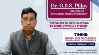 Dr. G.B.S. Pillay Best Piles Doctor in Aligarh