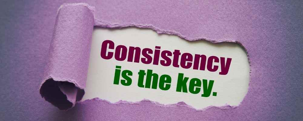 stay consistent How to Start a Blog and Make Money
