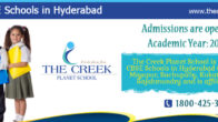 THE CREEK PLANET SCHOOL Bachupally CBSE International School